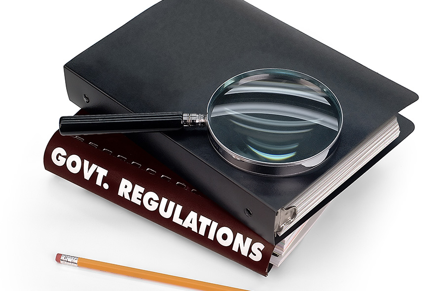govt regulations books